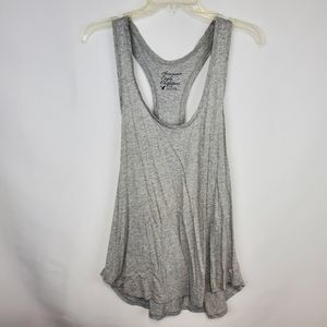 4/$25 American Eagle Outfitters grey gray tank top